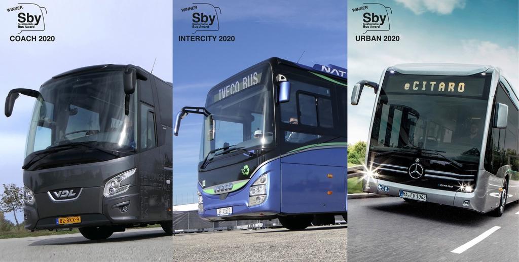 sustainable bus award winners 2020