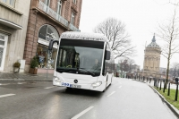 mercedes citaro electric bus