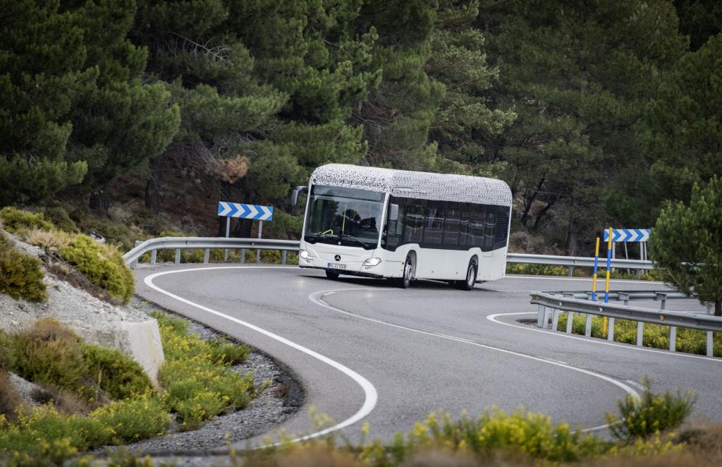 mercedes citaro electric bus
