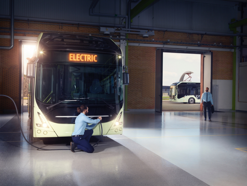 volvo buses electric bus