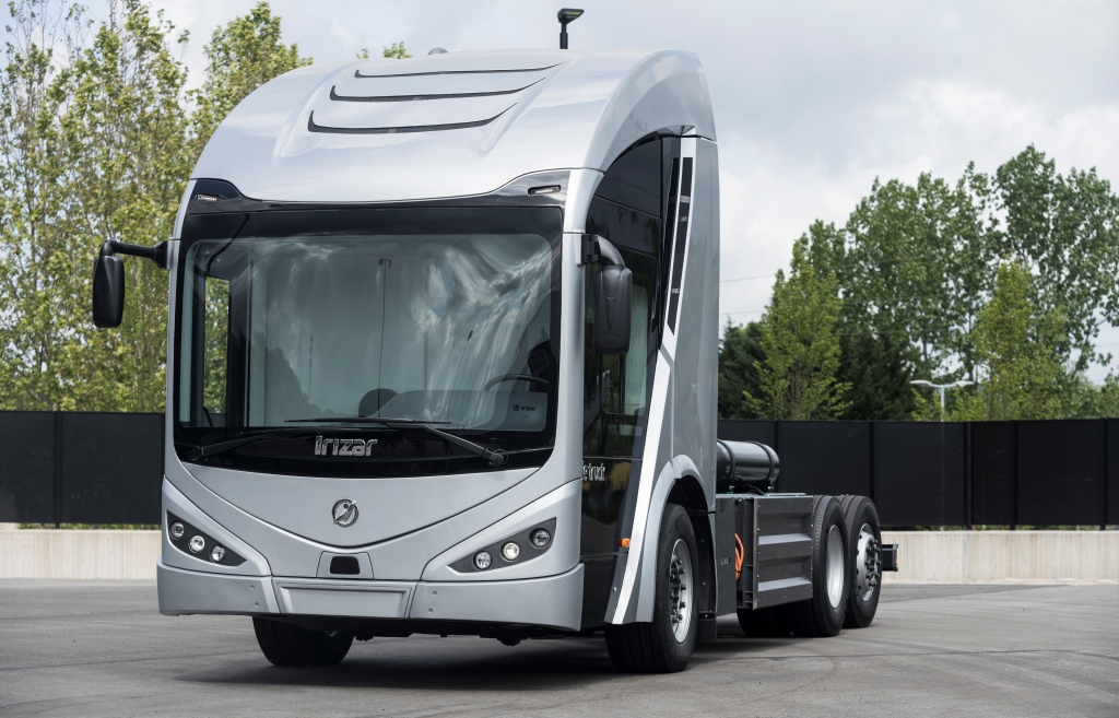 irizar ie truck electric truck