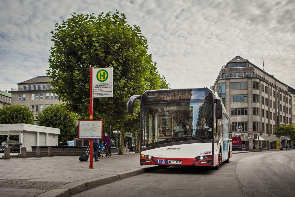 electric bus solaris urbino