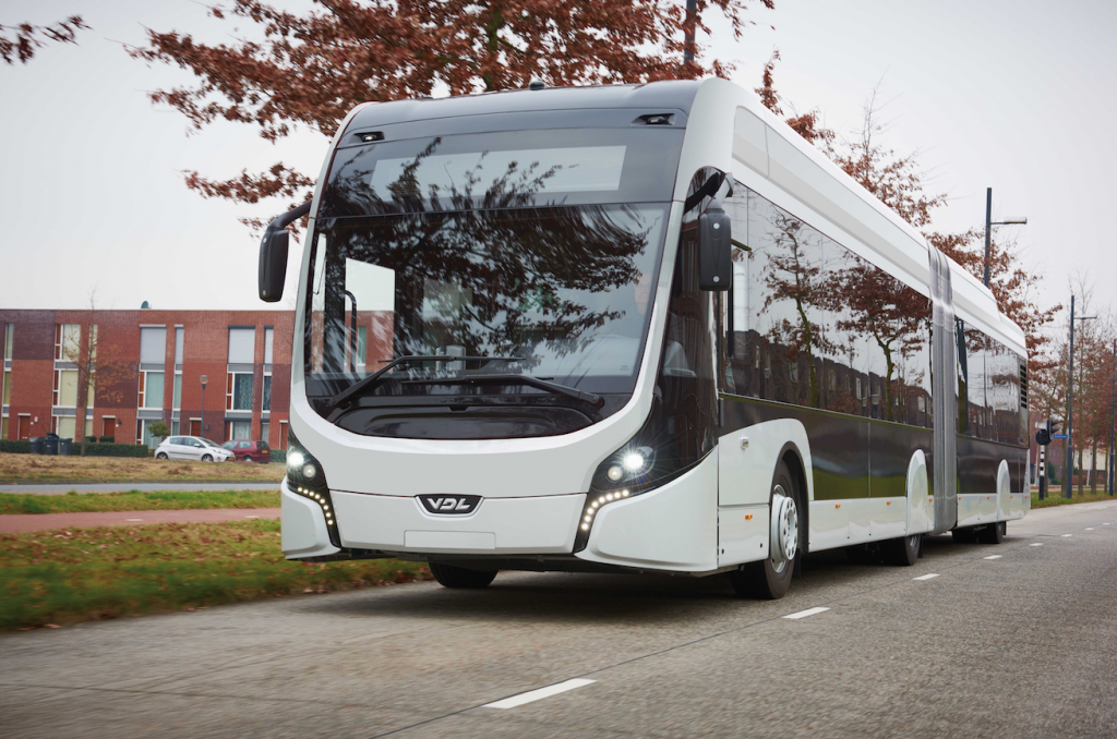 electric bus vdl bus coach citea