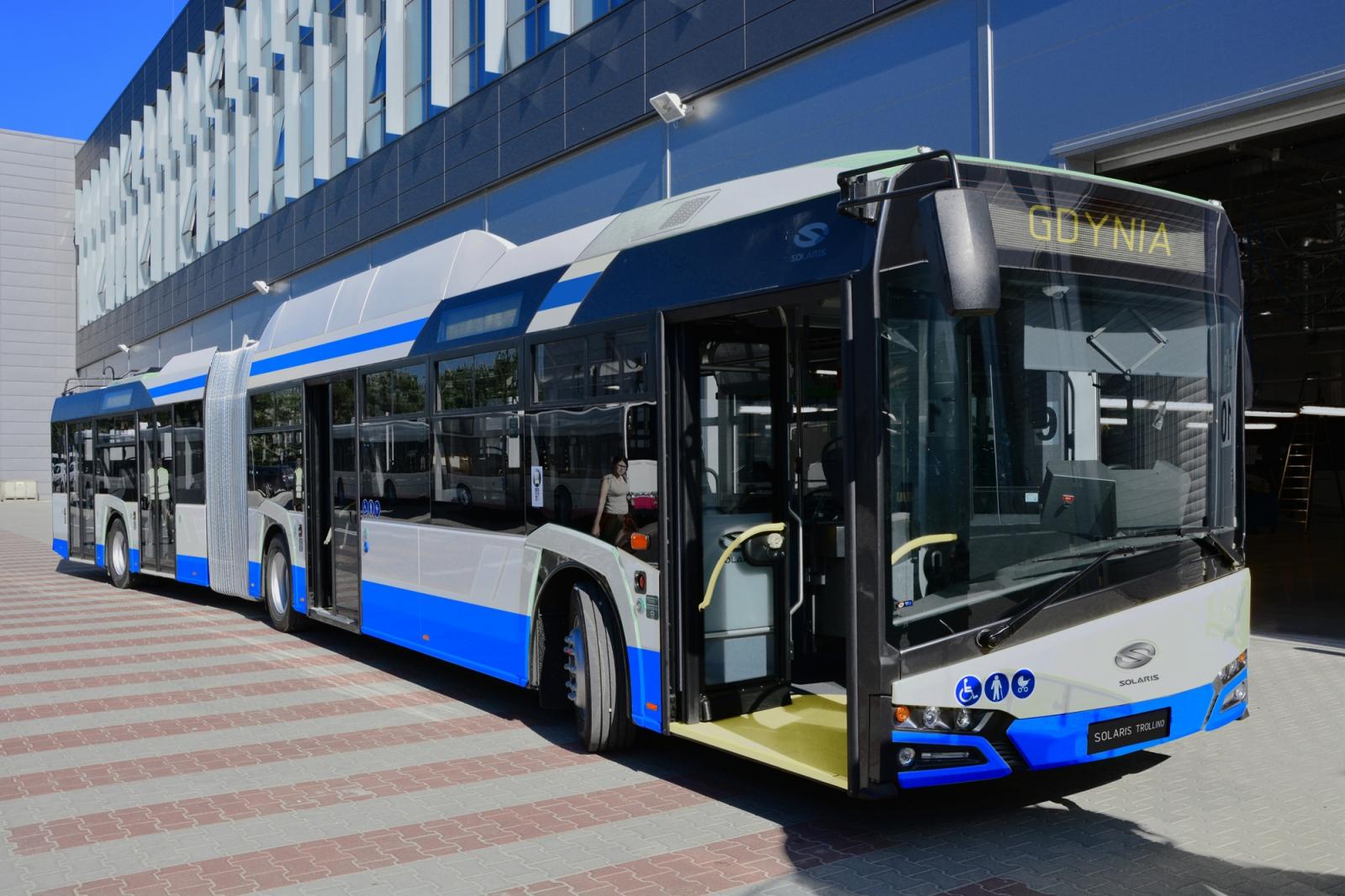trolleybus solaris bus & coach