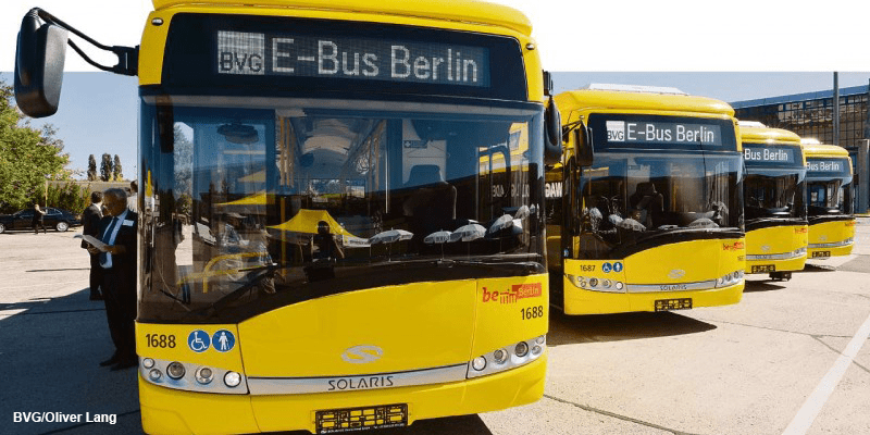 electric buses bvg berlin solaris urbino