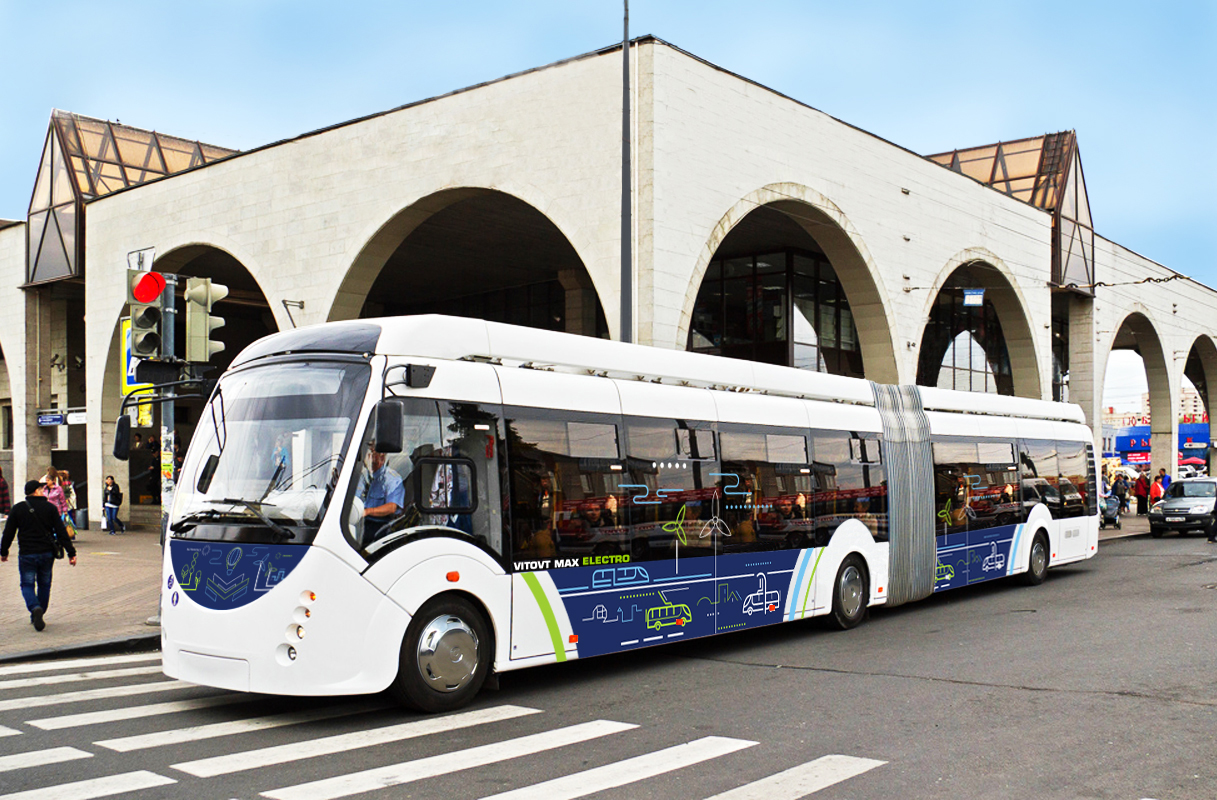 Belkommunmash electric bus