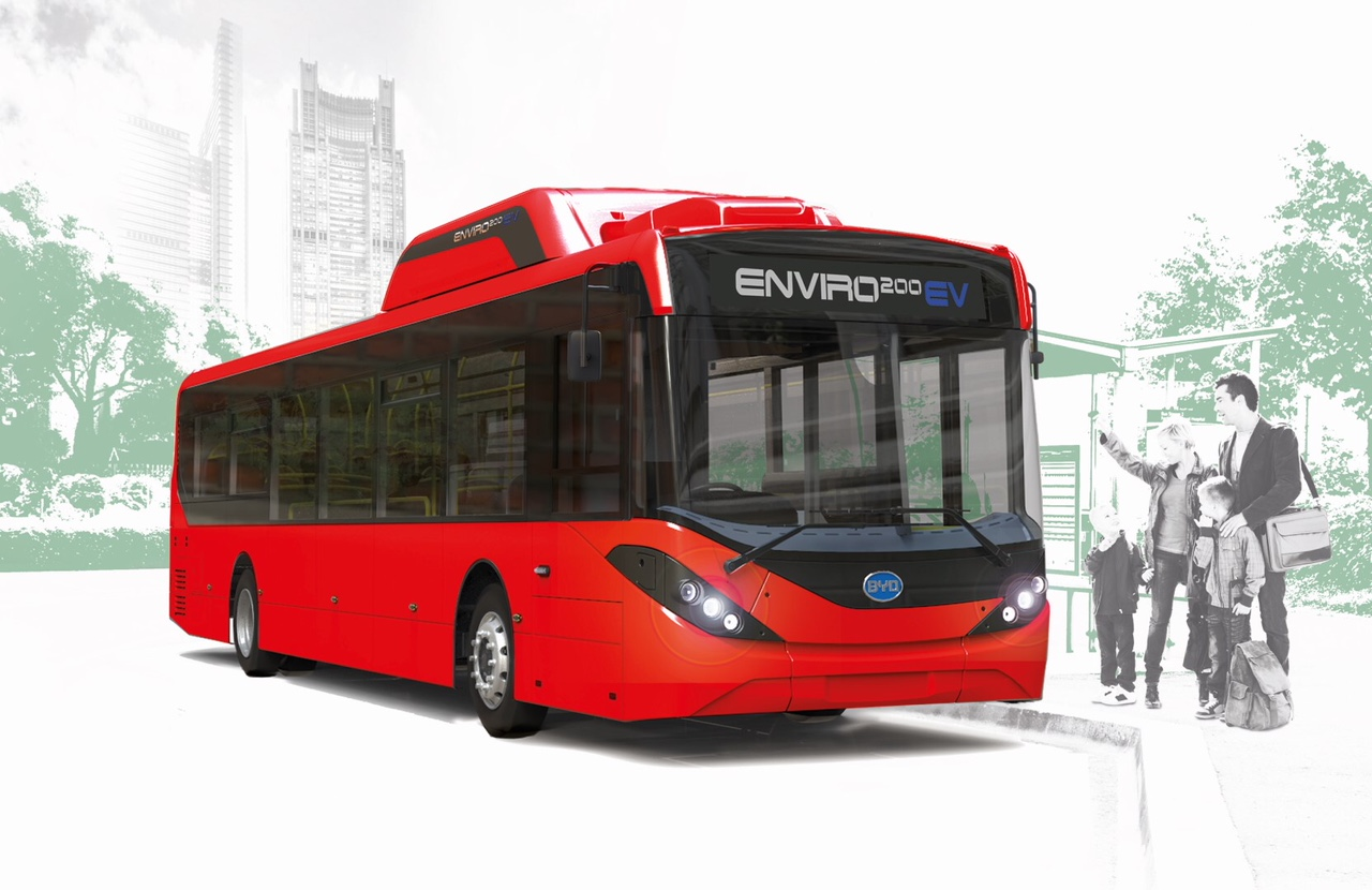 electric bus enviro200ev