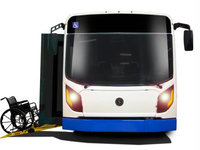 lion electric elionm electric bus