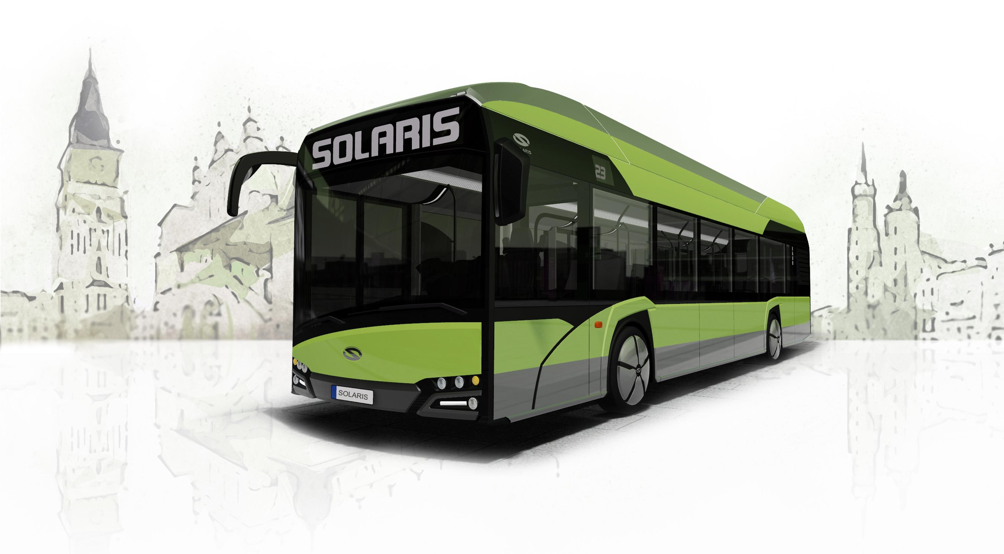 urbino 12 fuel cell hydrogen bus