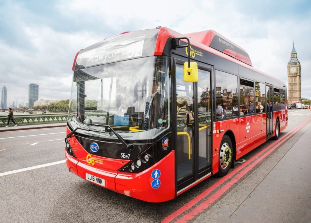 Europe electric buses