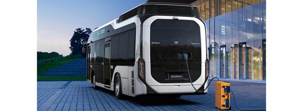 sora fuel cell bus toyota