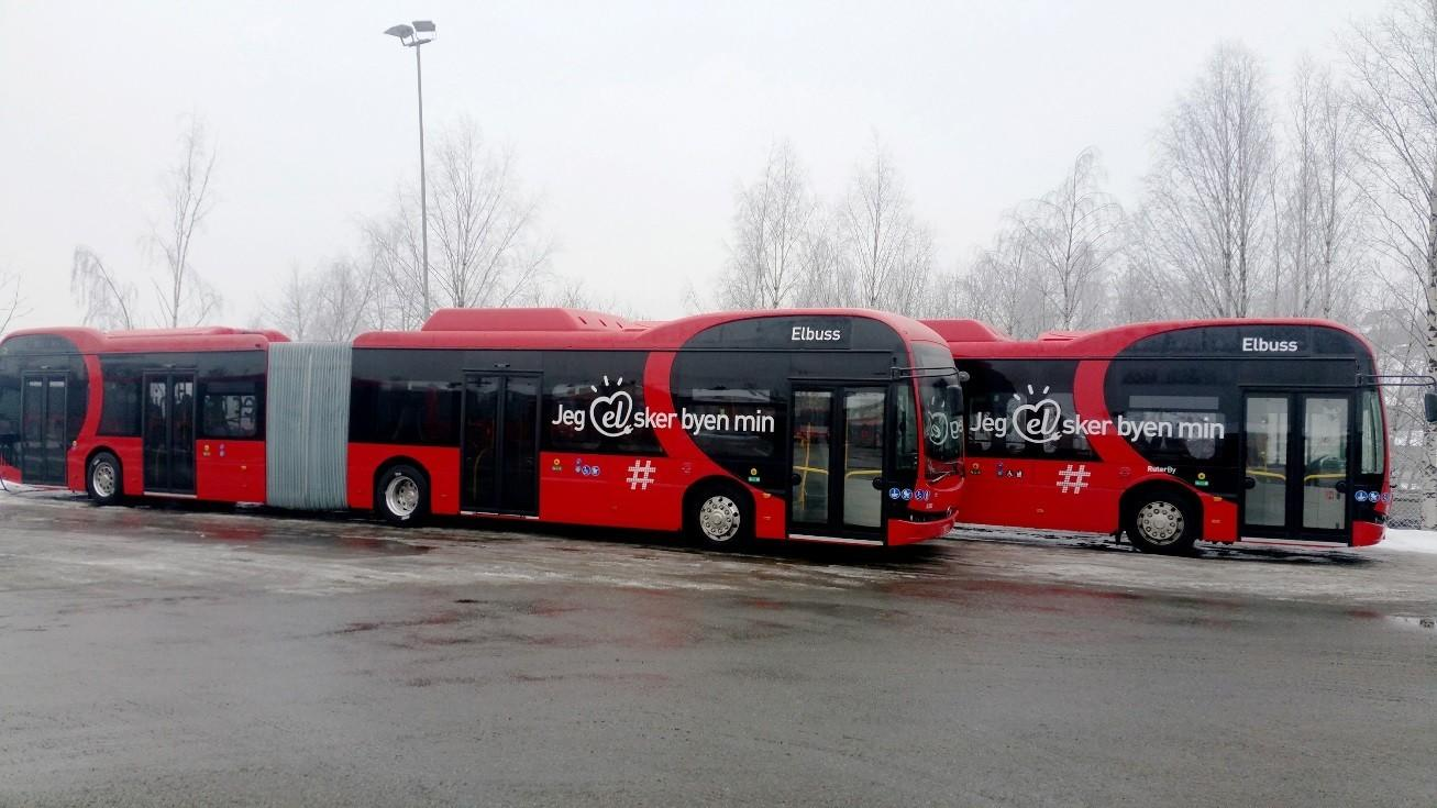 electric bus byd oslo