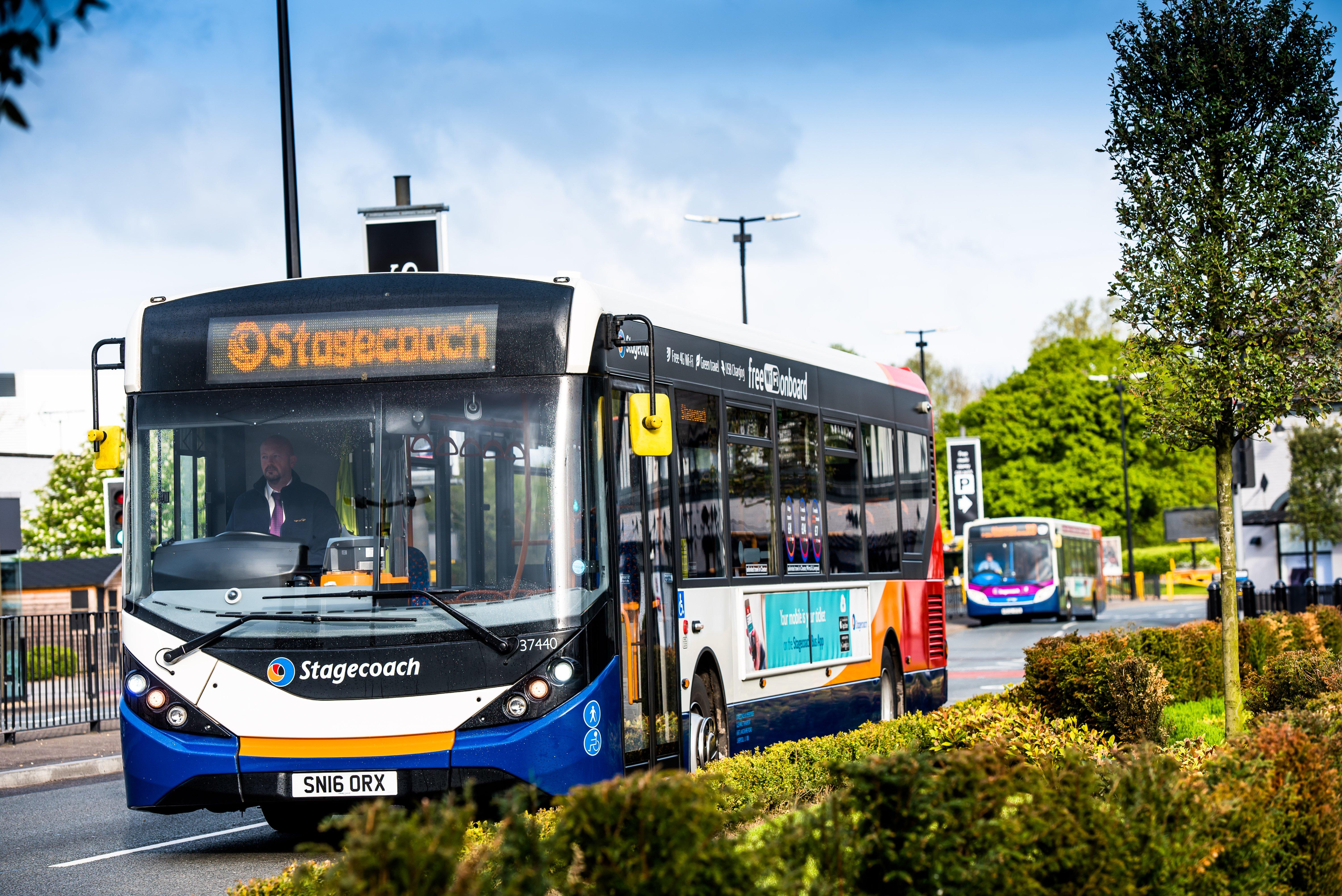 stagecoach autonomous bus