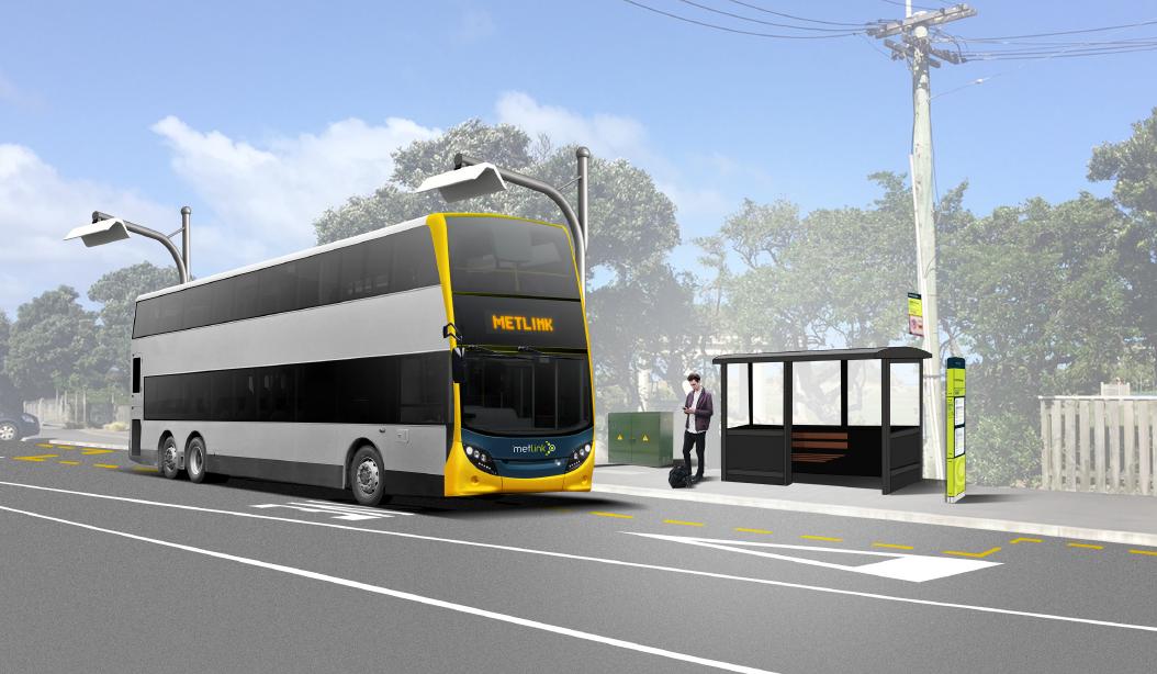 electric bus wellington