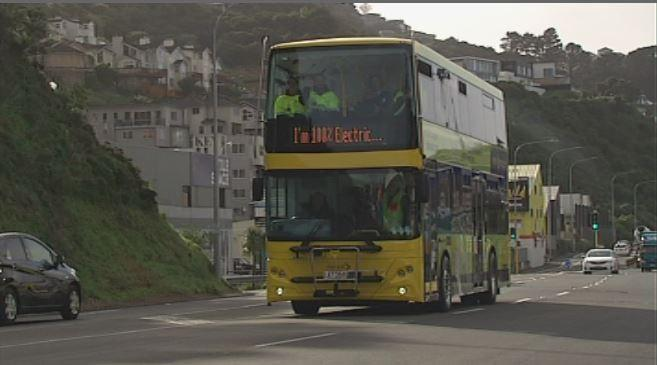 electric bus wellington