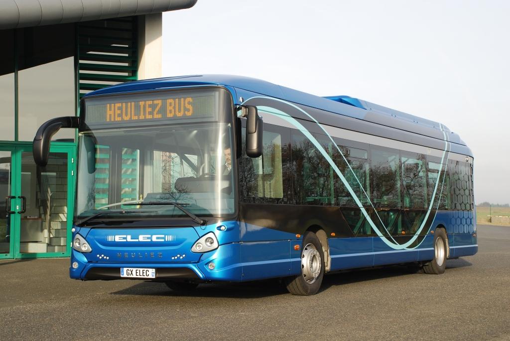 electric bus heuliez gx 337
