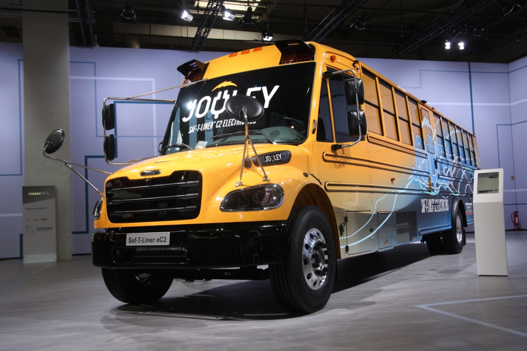 iaa 2018 electric shool bus