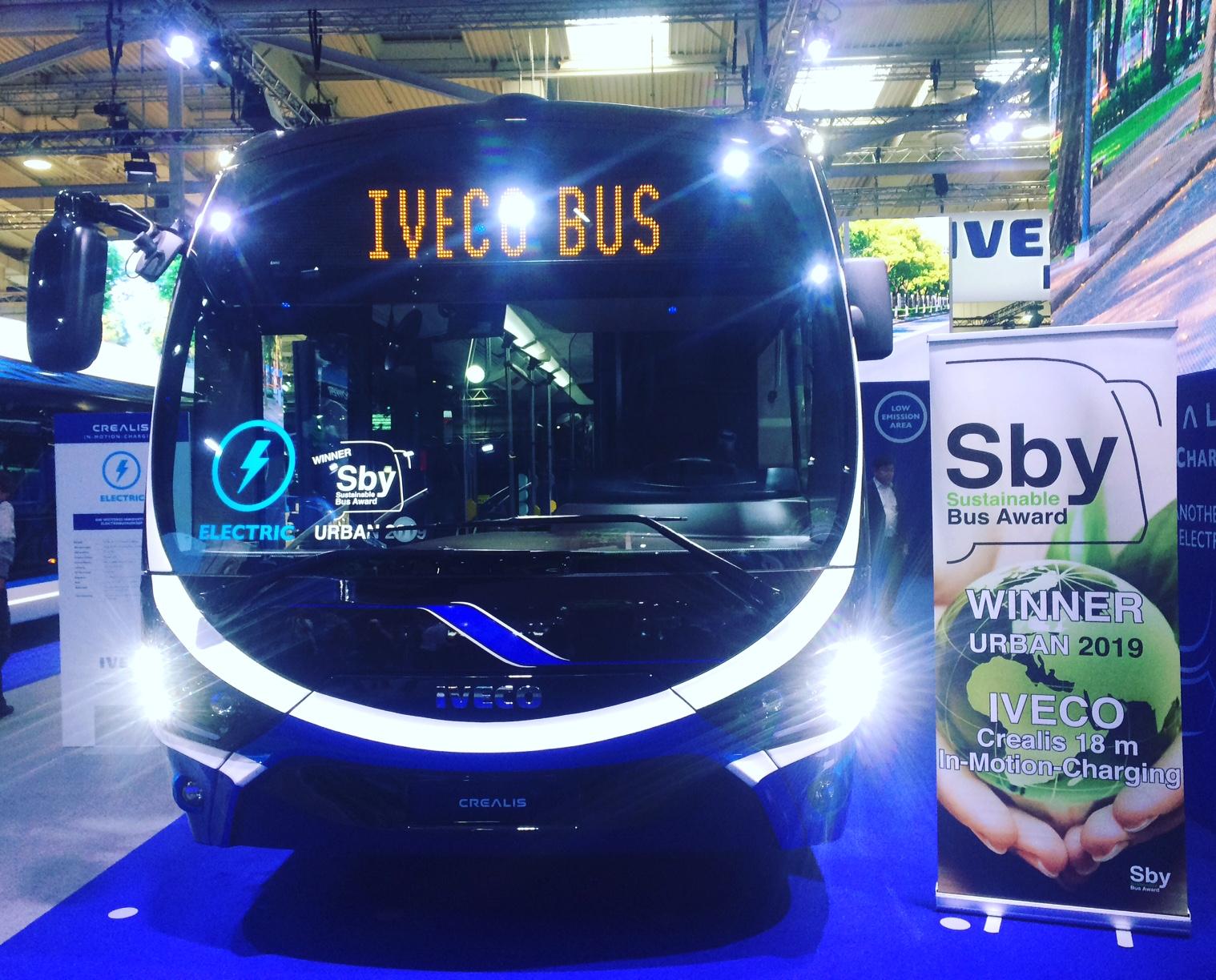 iaa 2018 Sustainable bus award iveco