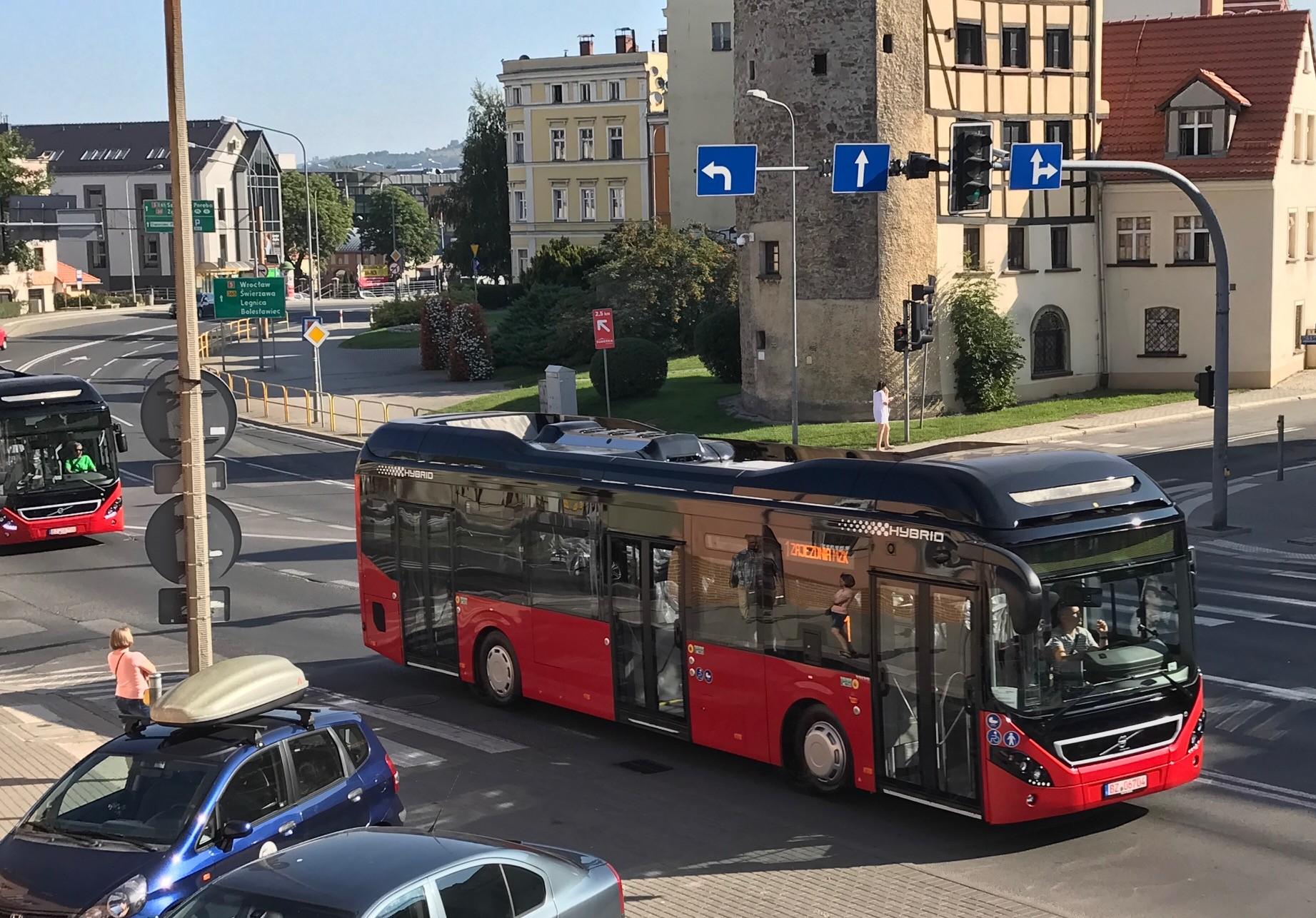Volvo 7900 Hybrid bus
