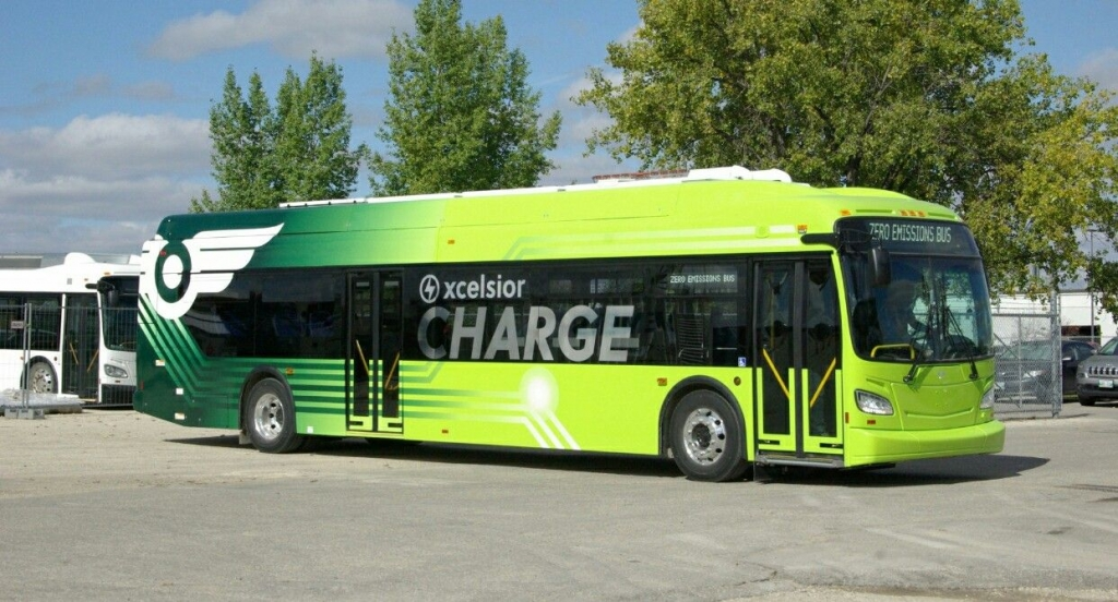 Canada's largest battery electric bus contract goes to New Flyer