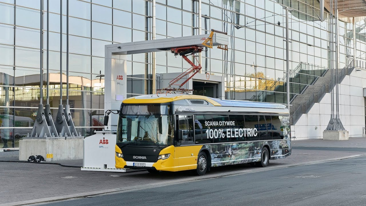 scania electric bus
