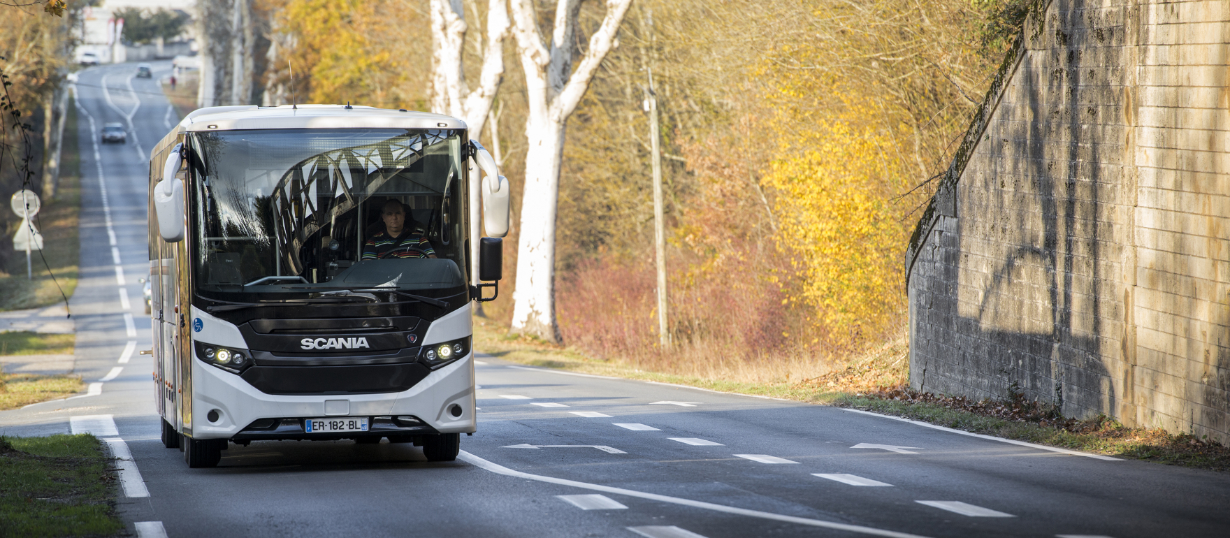 scania bus biofuel wine