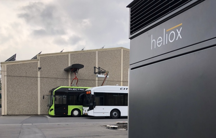 heliox multistandard system electric bus