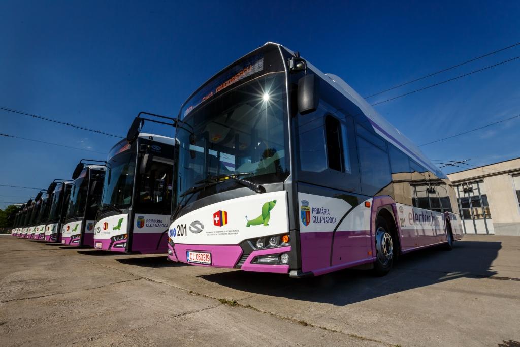 solaris urbino electric bus romania