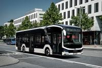 man electric bus lion's city e