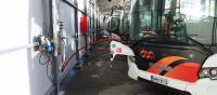 scania biogas bus