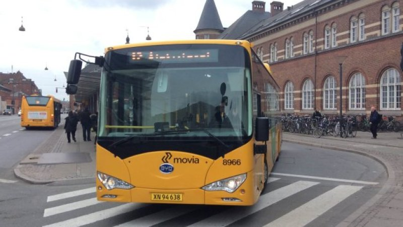 byd electric bus copenhagen