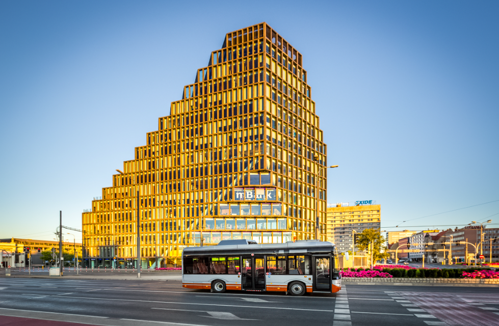 electric bus solaris latvia