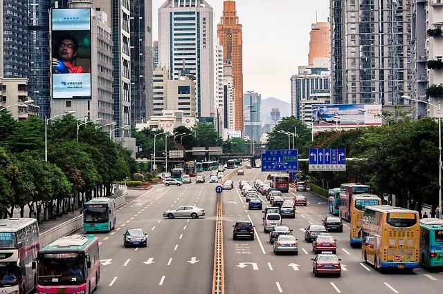 china electric bus market