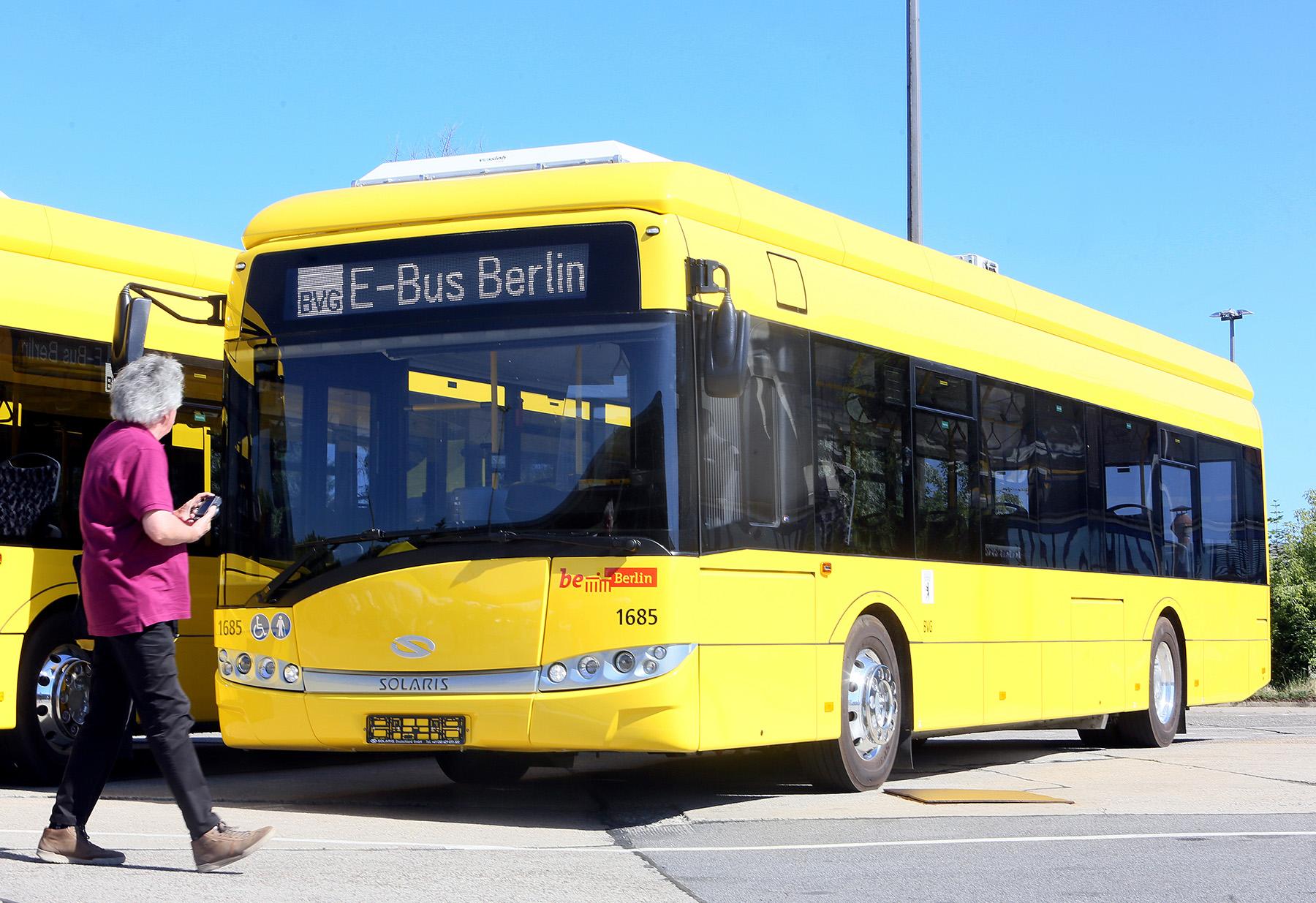 electric bus bvg berlin
