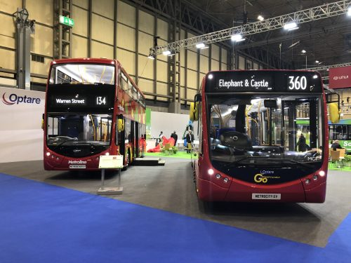 optare electric bus