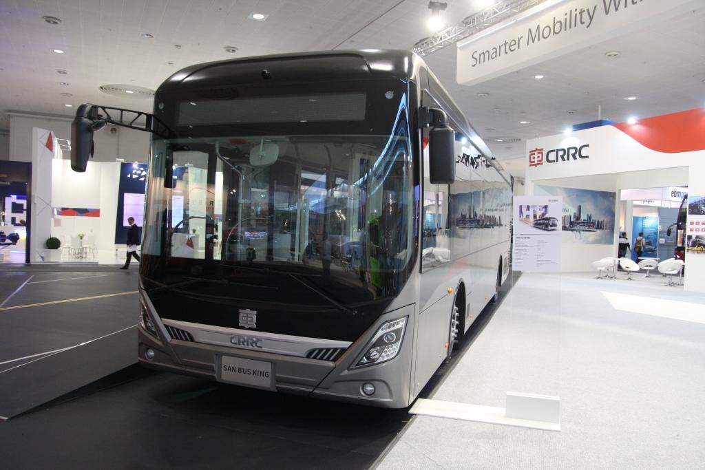 crrc electric bus