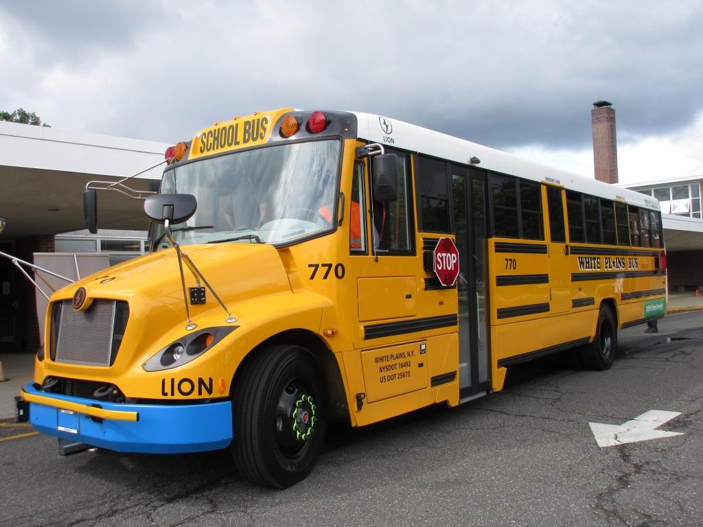 electric school bus new york