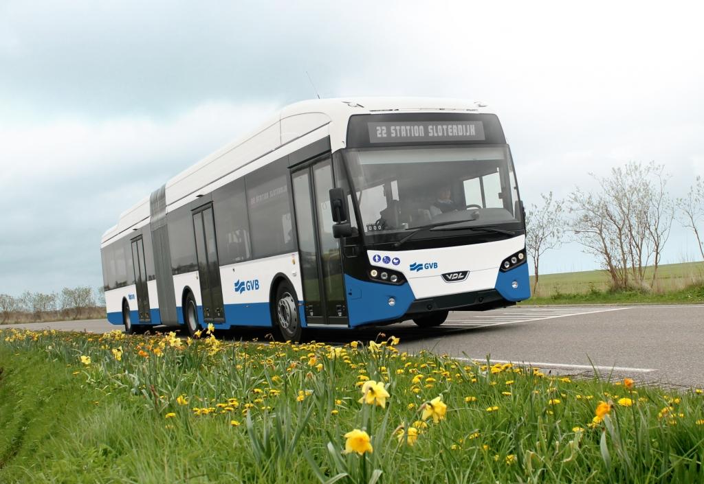 vdl electric bus amsterdam