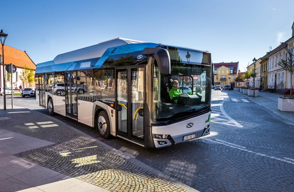 electric bus solaris urbino munich