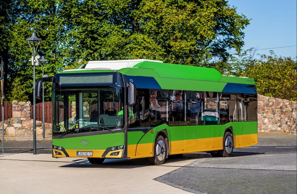 electric bus solaris urbino poznan