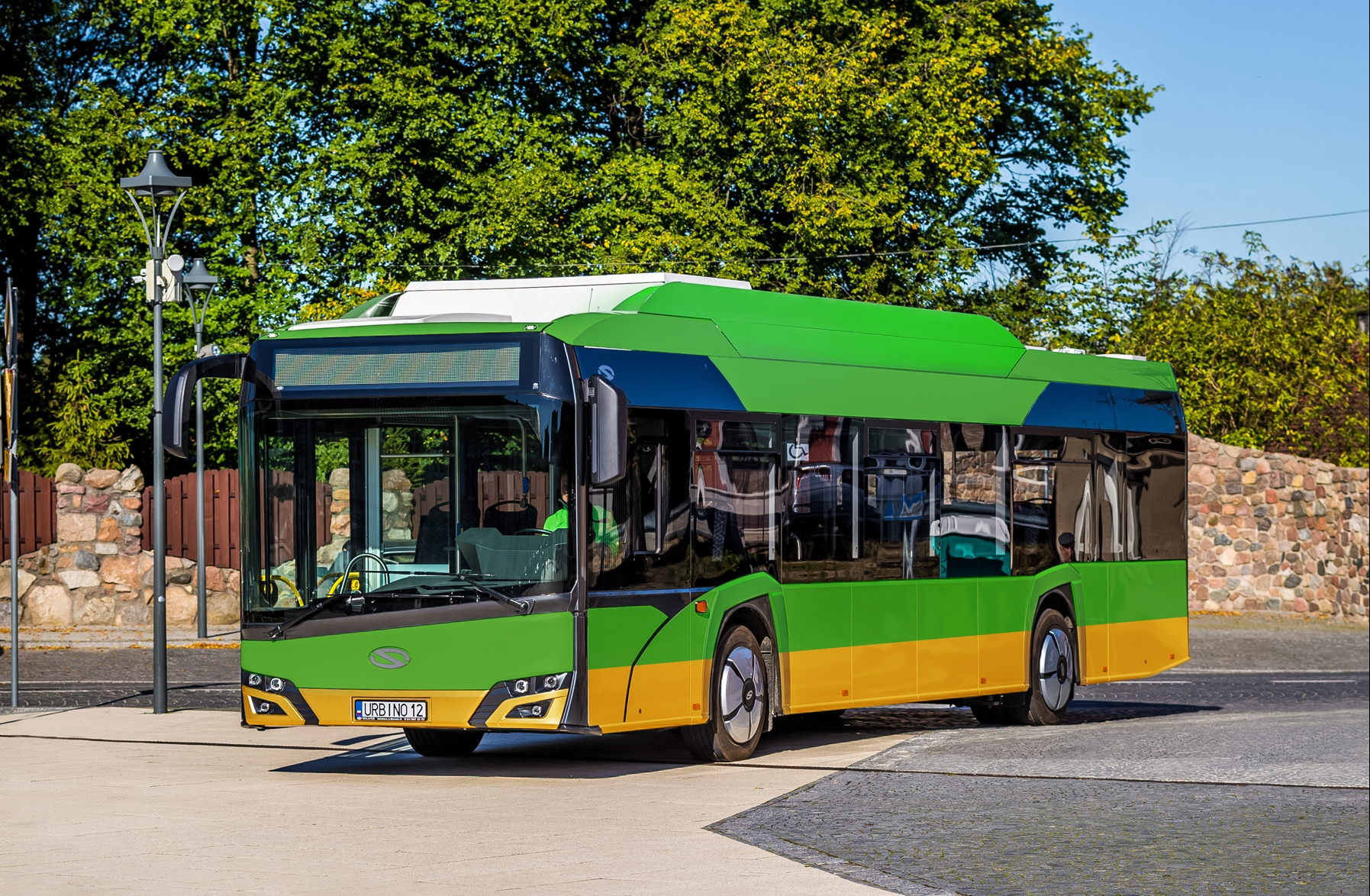 electric bus solaris urbino poznan