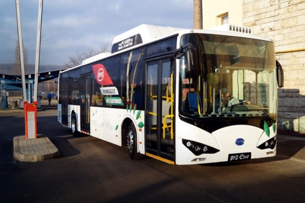electric bus byd Hungary