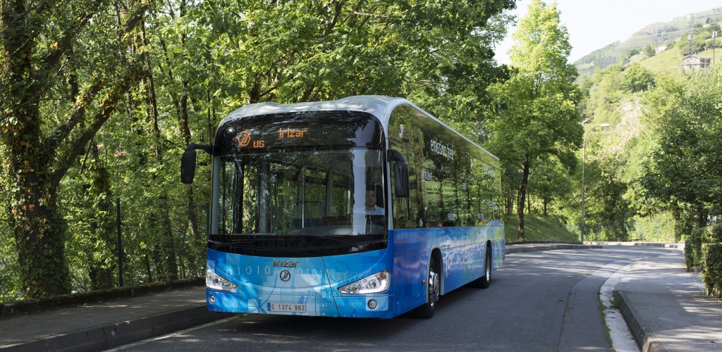 zero emission bus irizar