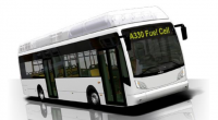 van hool fuel cell hydrogen bus