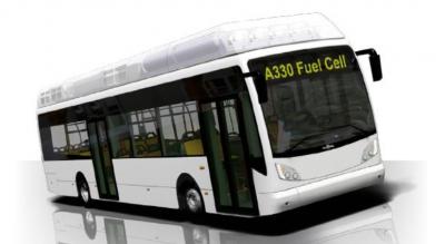 van hool fuel cell hydrogen bus