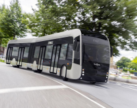 van hool fuel cell bus pau brt