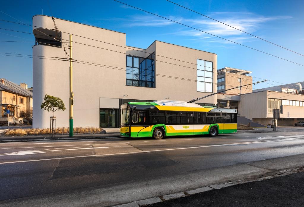 Solaris French trolleybus