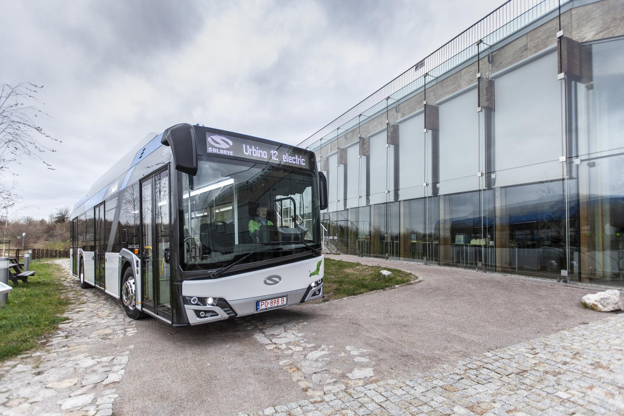 solaris zero emission bus