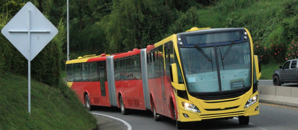 Scania gas buses