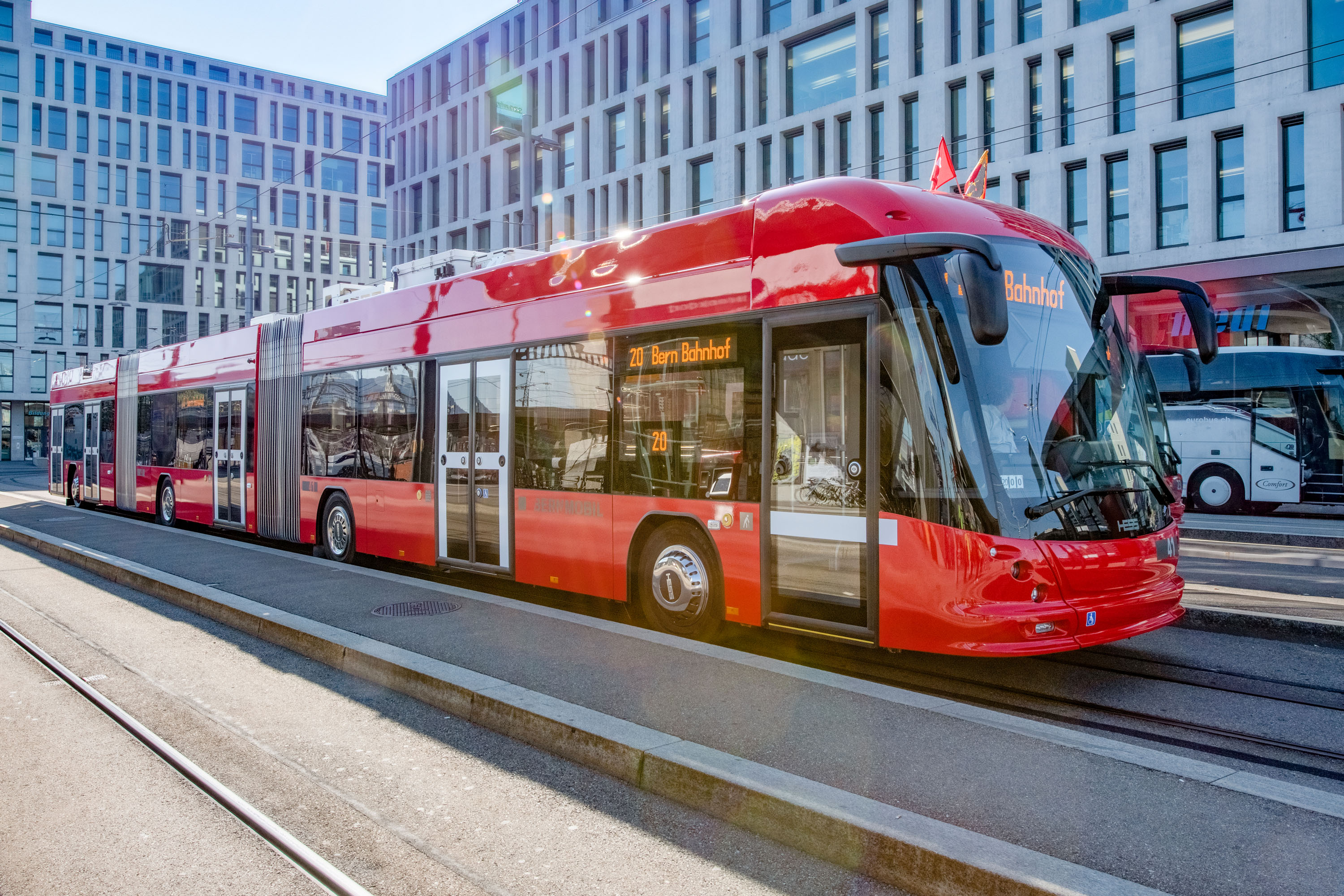12 Trolleybuses by Hess will hit Lausanne - Sustainable Bus